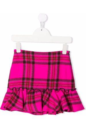 PHILOSOPHY DI LORENZO SERAFINI Girls Printed Skirts - Tartan check print skirt