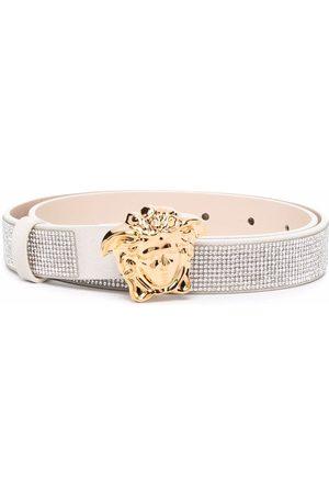 VERSACE Girls Belts - Medusa logo buckle belt