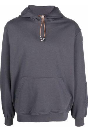 McQ Logo drawstring hoodie - Grey