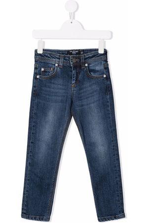 Neil Barrett Straight-leg faded jeans