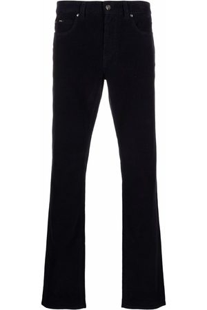 Z Zegna Low-rise slim-fit trousers - B09