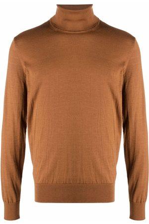 Ermenegildo Zegna Men Turtlenecks - Roll-neck rib-trimmed jumper