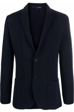 LARDINI Men Blazers - Tailored single-breasted blazer