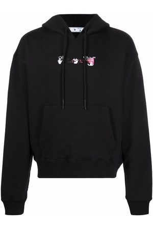 OFF-WHITE Men Hoodies - Acrylic Arrow hoodie