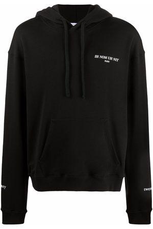 Ih Nom Uh Nit Men Hoodies - Logo-print cotton hoodie