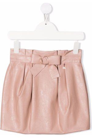 Elisabetta Franchi La Mia Bambina Women Mini Skirts - Faux-leather mini skirt