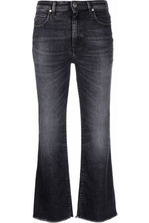 PT05 Women Flares - Mid-rise cropped jeans