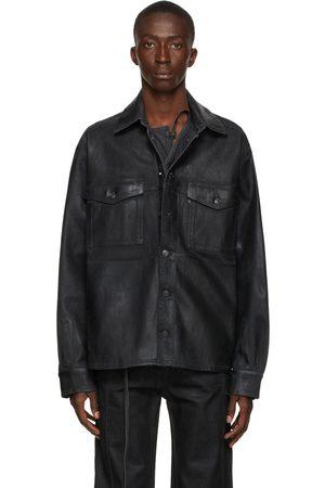 OTTOLINGER Men Denim Jackets - Denim Oversized Shirt Jacket