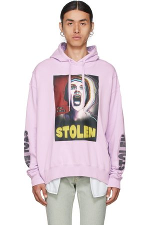 Stolen Girlfriends Club Men Hoodies - Purple Skream Hoodie
