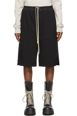 Rick Owens Men Boxer Shorts - Black Karloff Boxer Shorts