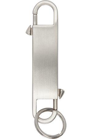 Rick Owens Silver Gemini Keychain