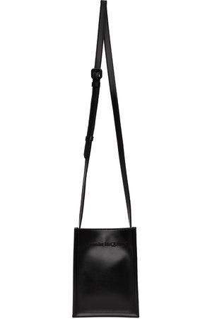 Alexander McQueen Men Luggage - Black Mini Crossbody Messenger Bag