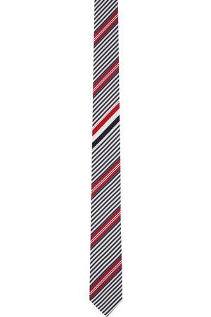 Thom Browne Men Neckties - Mulitcolor Classic Tie