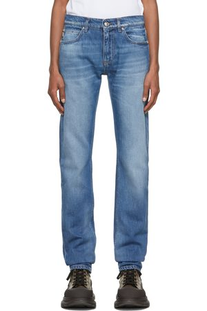 VERSACE Men Skinny - Blue Skinny Jeans