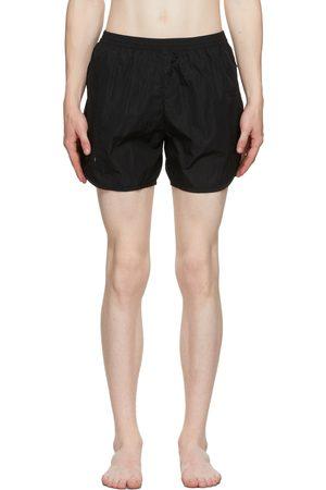 TRUE TRIBE Black Wild Steve Swim Shorts