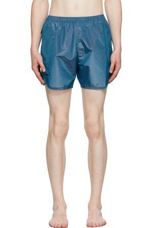 TRUE TRIBE Blue Iridescent Wild Steve Swim Shorts