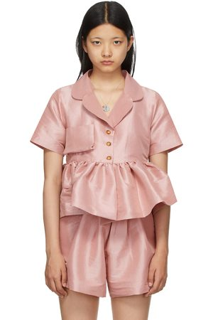 Kika Vargas Women Short sleeves - Taffeta Angela Short Sleeve Shirt