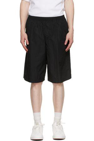 TRUE TRIBE Men Bermudas - Black Oversized Rough Steve Bermuda Shorts