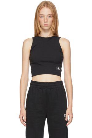 adidas Women Sports Tops - Ribbed Cropped Sportswear Sport Top