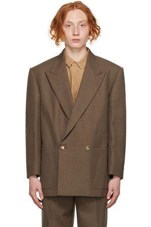FEAR OF GOD Men Blazers - Brown Wool 'The Suit Jacket' Blazer