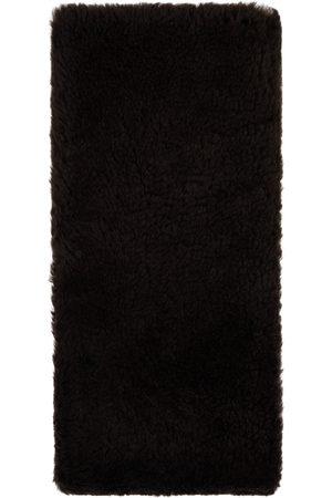 Bottega Veneta Men Scarves - Brown Shearling Teddy Scarf