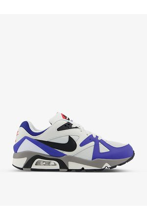 Nike Air Max Structure '91 leather and canvas low-top trainers