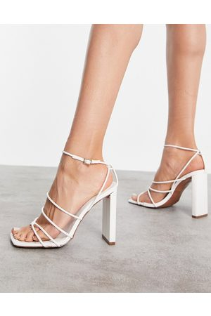 ASOS Nadya strappy high heeled sandals in