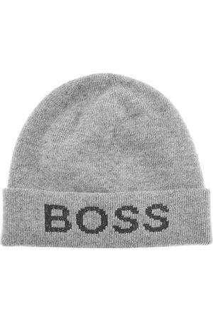 HUGO BOSS BOSS Nove Beanie Hat Grey