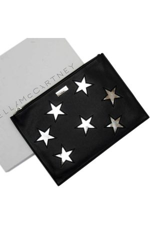 Stella McCartney Leather clutch bag