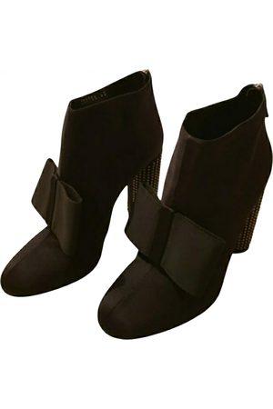 Stella McCartney Cloth lace up boots