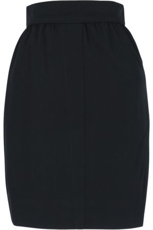 Thierry Mugler Wool mini skirt