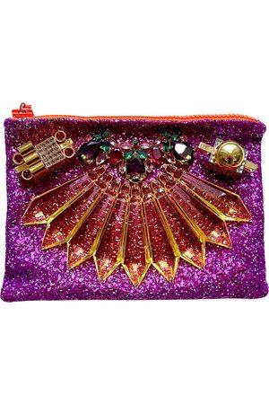 MAWI Glitter clutch bag