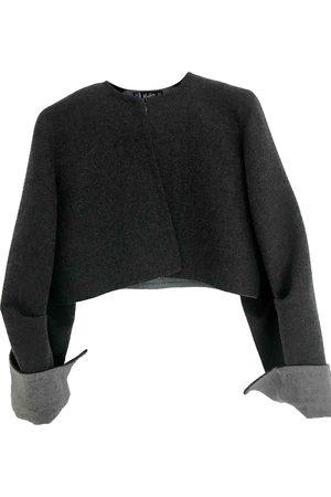 CLAUDE MONTANA Wool suit jacket