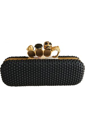 Alexander McQueen Knuckle leather clutch bag