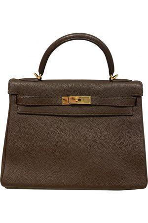 Hermès Kelly 32 leather handbag