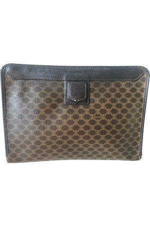 Céline Triomphe Vintage cloth clutch bag
