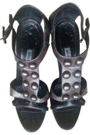 Manolo Blahnik Women Sandals - Leather sandal