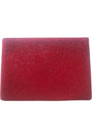 Swarovski Leather clutch bag