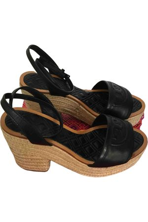 Tory Burch Women Espadrilles - Leather espadrilles