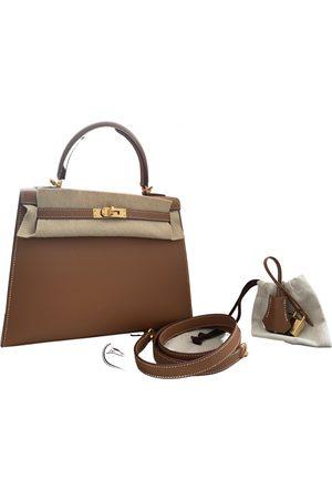 Hermès Kelly 25 leather handbag