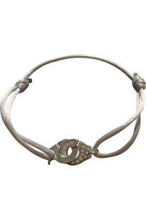 DINH VAN Menottes white gold bracelet