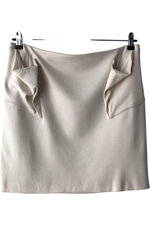 Helmut Lang Wool mini skirt