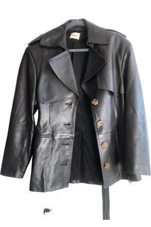 Khaite Leather caban