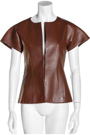 La Mania Leather blazer