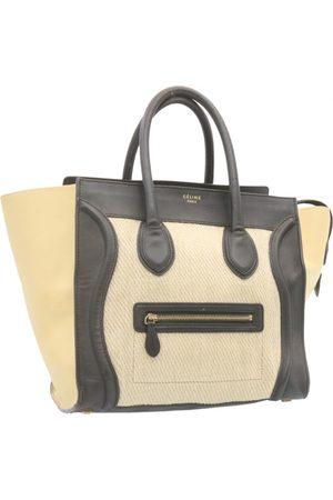 Céline Luggage cloth handbag