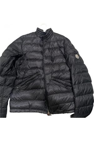 Moncler Classic leather jacket