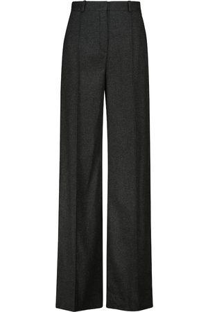 Loro Piana Elias straight cashmere-blend pants