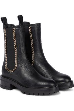 Aquazzura Women Chelsea Boots - Mason leather Chelsea boots