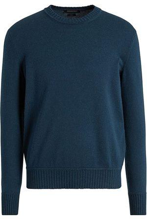 Ermenegildo Zegna Men Sweatshirts - Cotton & Cashmere Crewneck Sweater