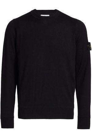 Stone Island Men Sweatshirts - Wool Logo Patch Sweater